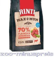 Hundefutter RINTI MAX-i-MUM Rind 4 kg, sehr veträgl. Hauptfutter viel Fleisch