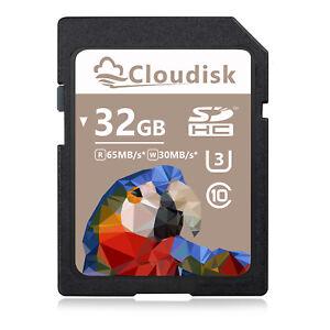 Cloudisk SD Card 32GB 16GB  C10 128MB 1GB 2GB 3GB 4GB 8GB C4 Menory Card