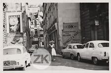 JEAN SEBERG Paris MARQUAND Affiche Dauphine SIMCA Citroën Volkswagen Photo 1960