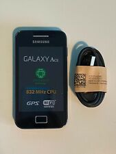 Samsung Galaxy Ace GT-S5830i Sim Free Unlocked Black Android Basic Smartphone