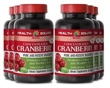 Concentrated Cranberry Extract Pills 252mg Urinary Trackt Help - Vitamin C - 6B