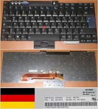 KEYBOARD QWERTZ GERMAN Lenovo ThinkPad T60 R60 42T4043 42T4075 MV-90D0 48T052