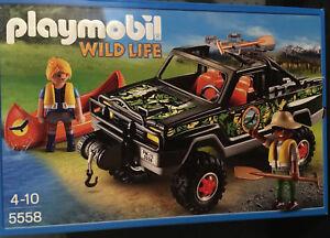 PLAYMOBIL 5558 Wild Life - Abenteuer-Pickup Neu & OVP!