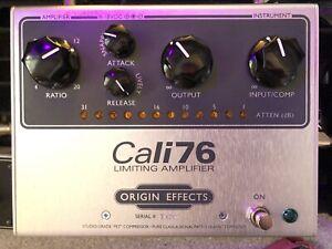 Origin Effects Cali 76 Compressor - The Big One! Output Transformer, LED Meter