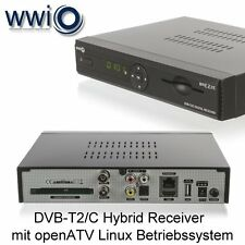 WWIO DVB-T2/C Receiver BRE2ZE T2/C mit openATV Linux Betriebssystem