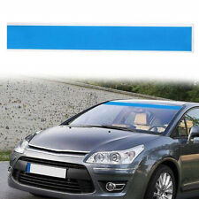 Blau 15x152cm Sonnenschutz Auto Windschutzscheibe Aufkleber Streifen Sticker 1x