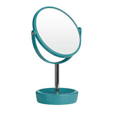 Premier Housewares Swivel Table Mirror - Turquoise