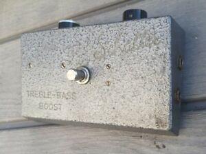 Rare Schaller Treble Bass Boost Guitar pedal vintage German