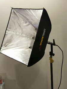 Lowel Rifa 55eX Light System - with soft case, stand, fluorescent module + bulbs