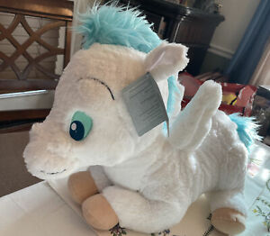 Disney Store Hercules Baby Pegasus Plush Large SoldOut Soft Blue White NWT Rare