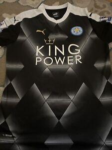 Leicester City jersey XL 2015/16 home shirt soccer football Puma Mahrez #26