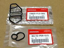 OEM 97-01 Honda Prelude Type SH H22 Upper + Lower VTEC Solenoid Gaskets Set P13
