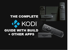 ⭐Amazon Fire TV Stick 2nd Gen / 4K Ultra HD KODI 17.3 GUIDE + MORE⭐