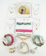 New Teen / Young Adult Bracelet Necklace Ring Jewelry Lot $137 Value  #LOT8