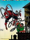TODD MCFARLANE ART SPIDER-MAN 1991 ORIGINAL POSTER BOOK PRODUCTION PROOF PAGE