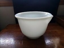 Hamilton Beach Pyrex Milk Glass Small Replacement Mixing Bowl With Spout