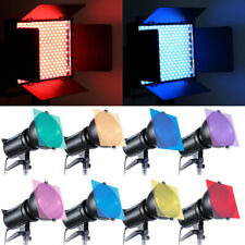 "Photography Studio Flash Speedlite Strobe Lighting 12"" 8 Colors Set Gels Filter"