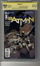Batman (2011) # 1 - CBCS 9.0 WHITE Pages - SS2X Greg Capullo & Scott Snyder