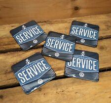 Volkswagen Service cork backed drinks mat / coaster . Official merchandise.