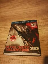 My Bloody Valentine 3D Limited Edition Steel Box Blu ray Disc incl 3D glasses