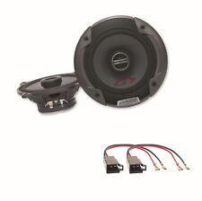 Alpine SPG-13C2 2 Wege Lautsprecher Boxen System Einbauset Golf 1 Cabrio vorne