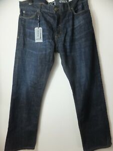 New Men's FatFace Straight Rinse Denim Jeans Size UK 36 S RRP £59