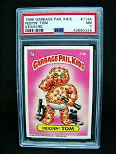 GARBAGE PAIL KIDS - 1986 - 3rd Series #114b Peepin' Tom - 1* -OS3 Grade PSA 7 NM