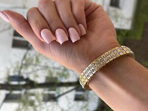 Daughter bracelet for Birthday Bday Grand daughter niece gift 24kt GOLD Diamond