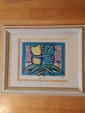 "Heusso Water Hazard ""Cats Date Palm"" Print1993"