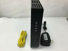 Arris NVG343BQ Modem / WiFi Router, With AC Adapter & Internet Cable,Tested
