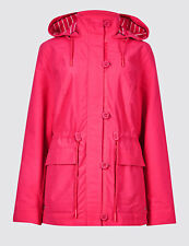 EX M&S Collection Rich Anorak Jacket with Stormwear