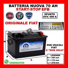 BATTERIA START-STOP 70AH NUOVA VW GOLF VII 2.0 TDI 4MOTION 2012 KW110 CV150 CKFC
