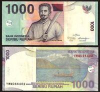 INDONESIA 1,000 (1000) Rupiah, 2013, P-141k, Pattimura, UNC World Currency