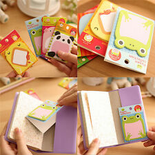 8Pcs Animal Cat Panda Cute Kawaii Sticky Notes Memo Pad School Supplies PR