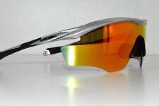 Oakley M2 Frame Sunglasses OO9212-04 Silver/Fire Iridium