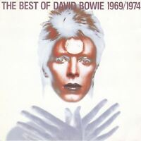 DAVID BOWIE the best of 1969 / 1974 (greatest hits) (CD compilation) glam rock