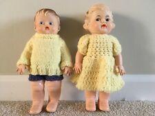 Antique rubber dolls
