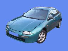 423- Mazda 323 BA Schlachtfest - Motor - Getriebe kleinteile fast alles