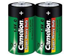 10 x Camelion Super Heavy Duty Batterie Baby C R14 Zink Kohle 1,5V  10100214