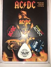 Perri's AC/DC Collectible Guitar Picks 6-Pack Acoustic Or Electric Guitar