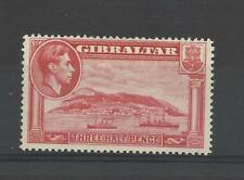 Gibraltar 1938 GV1 1.1/2d carmin UMM/neuf sans charnière