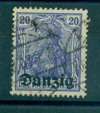 FREE CITY OF DANZIG - GERMANY 1920/1921 20 Pf