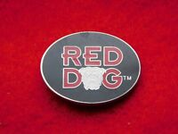 VINTAGE METAL PIN RED DOG