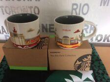 Starbucks City You Are Here 14 Oz/414ml 🇩🇪 Berlin / German 1 Tasse Mug + SKU