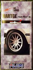 Felgen Hartge 15 Zoll inkl. Reifen Pirelli Cinturato P 7, 1:24, Fujimi 192987