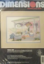 Tides Inn Counted Cross Stitch Kit Dimensions # 3707