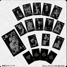 Black Butler Funtom Playing Cards Kuroshitsuji 10th Anniversary SquareEnix Japan