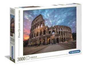 Clementoni 33548 Sonnenaufgang über dem Kolosseum 3000 Teile Puzzle High Quality