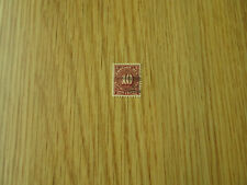 US STAMPS POSTAGE DUE      10  CENT STAMP   FROM 1894  USED