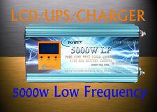 20000W Peak 5000W Low Frequency Pure Sine Wave Power Inverter 24V DC/110VAC 60Hz